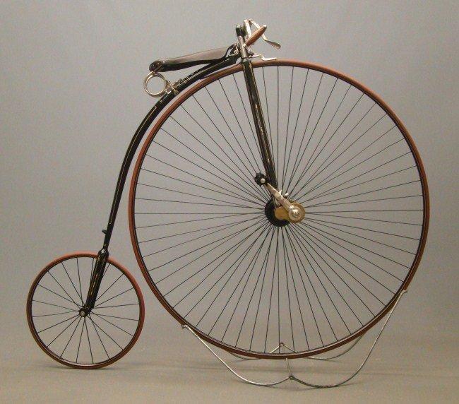 16: Springfield Roadster Highwheel Bicycle