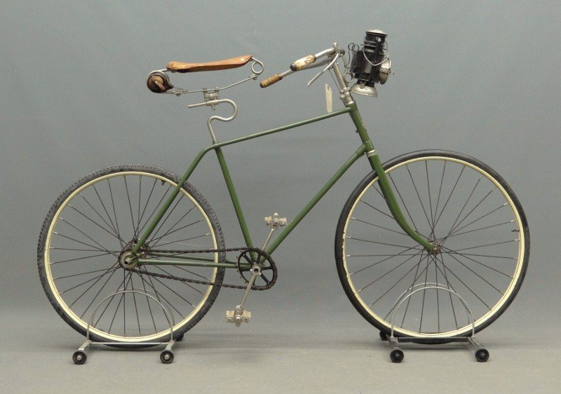 3A: C. 1893 Columbia Pneumatic Safety Bicycle