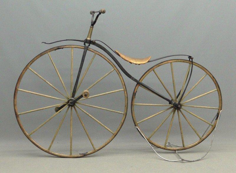 6A: C. 1865 Boneshaker Bicycle