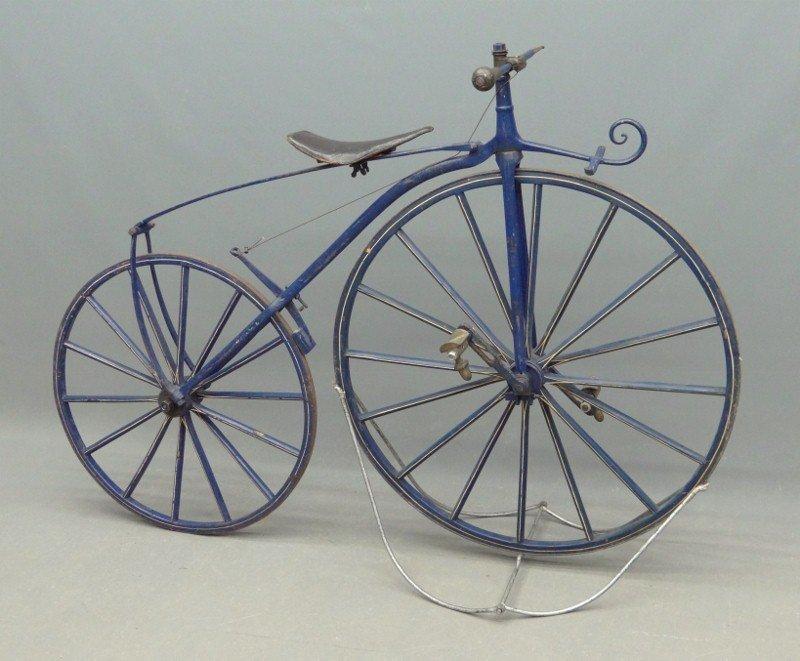 15A: C. 1869 Boneshaker Bicycle