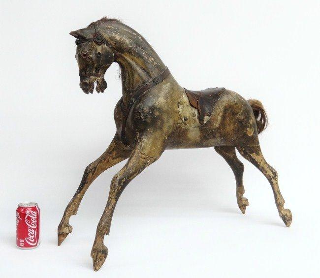 2: Signed 19th c. Rocking Horse