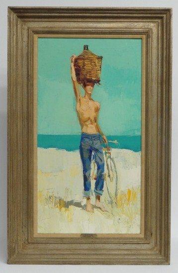 5: Painting Nicola Simbari