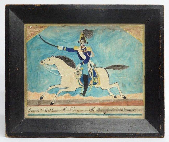 7: 19th c. W.H. Harrison Watercolor