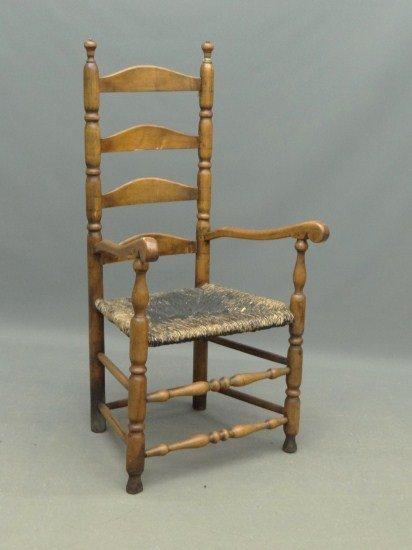17: 18th c. New England Armchair
