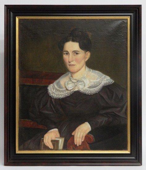 18: Early 19th c. Portrait Woman