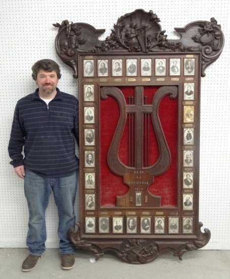 30: Dated 1916 Musical Frame