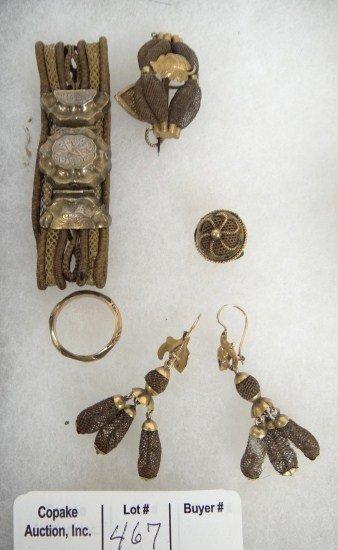 467: Hair Jewelry Lot