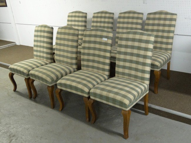 20: Set Of Upholstered Chairs