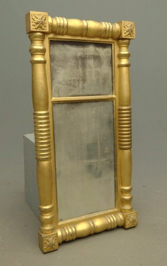 6: 19th c. Gilt Mirror