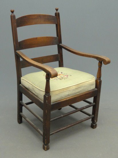 22: Gustav Stickley Chair