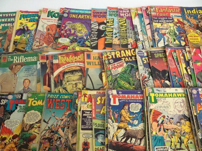 595: Comic Book Lot featuring THE INCREDIBLE HULK #1