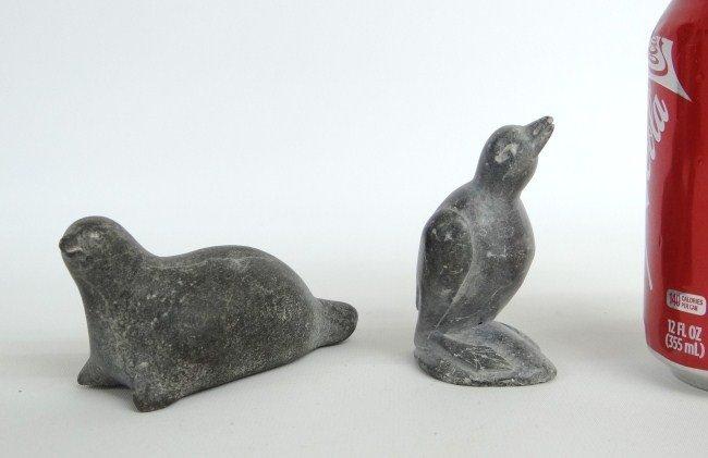 12: Inuit Eskimo Stone Sculptures
