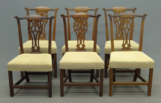 14: Set of Chippendale Chairs