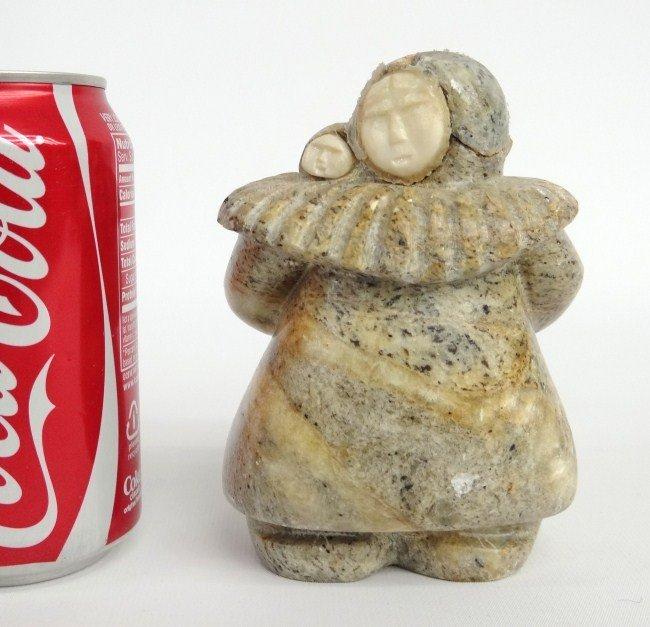15: Inuit Eskimo Stone Sculpture