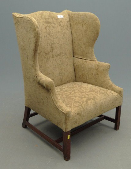 24: 18th c. Chippendale Wing Chair