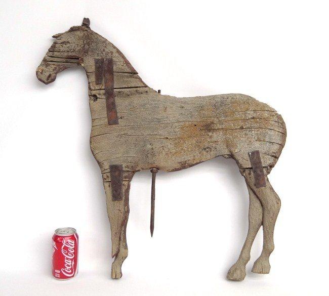 61: Horse Weathervane