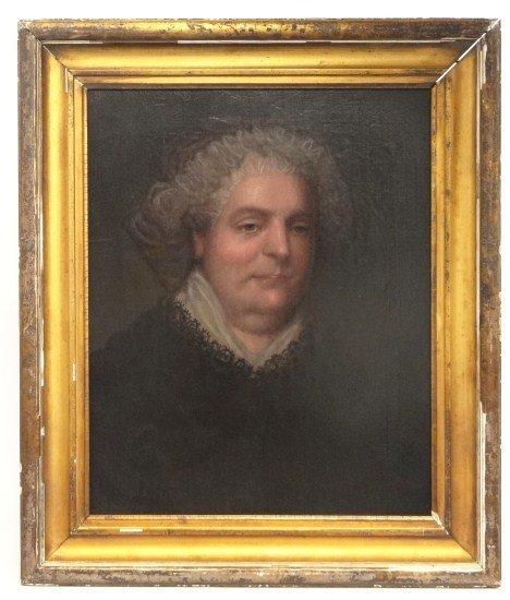 1: Pair 19th c. Portraits