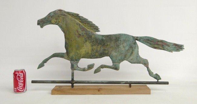 3: Horse Weathervane