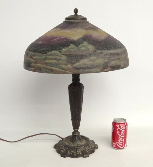 7: Pittsburgh Signed Lamp