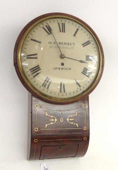 16: 19th c. Fusee Movement Clock