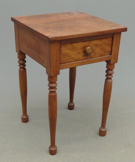24: 19th c. Single Drawer Stand