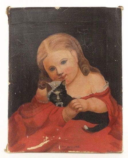 112: 19th c. Portrait Child