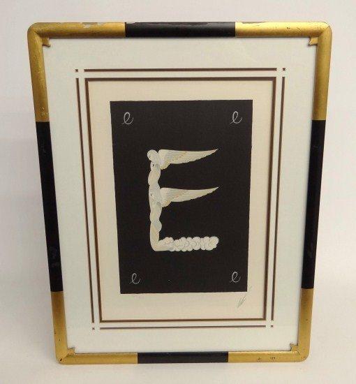 356: Signed Erte Print
