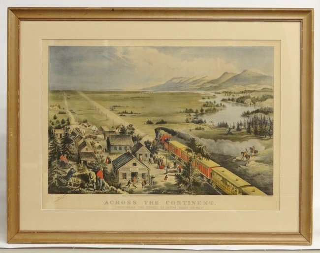 10: Currier And Ives Print