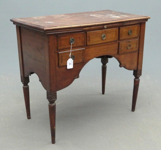 4: 19th c. Continental Desk