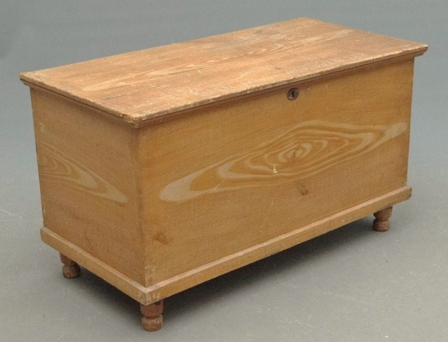 9: 19th c. Blanket Box