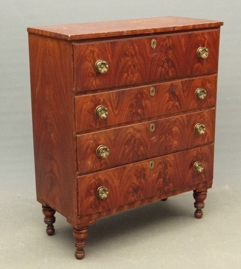 11: 19th c. Painted Chest Drawers