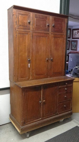 16: 19th c. Cupboard