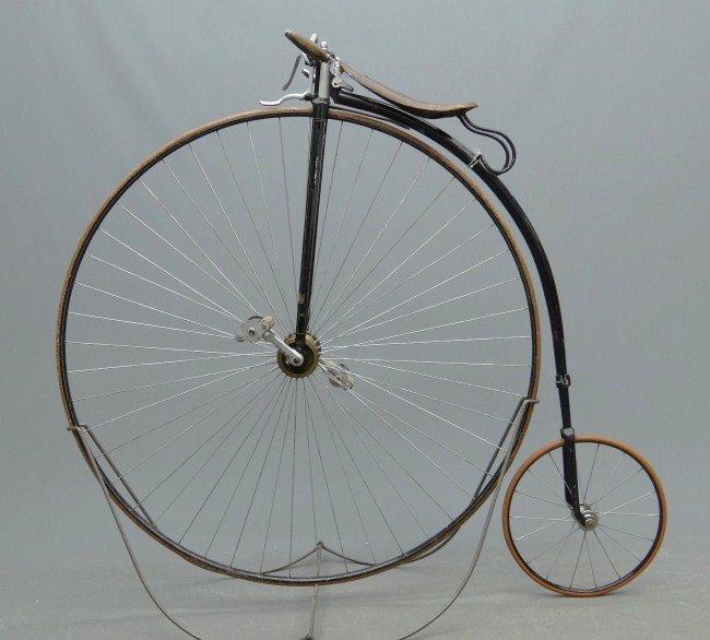 "4: 46"" Gormully & Jeffrey Highwheel Ordinary Bicycle"