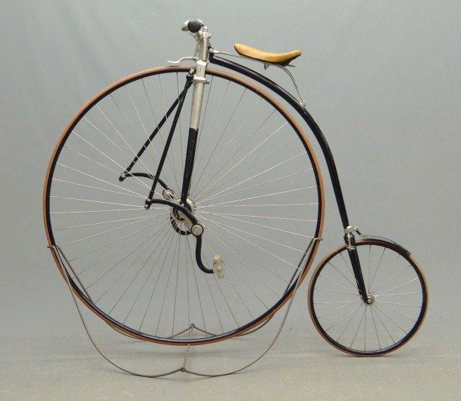 4A: Gormully & Jeffery High Wheel Safety Bicycle