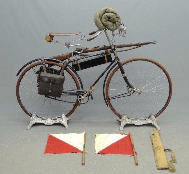 5: 19th c. Columbia Military Bicycle