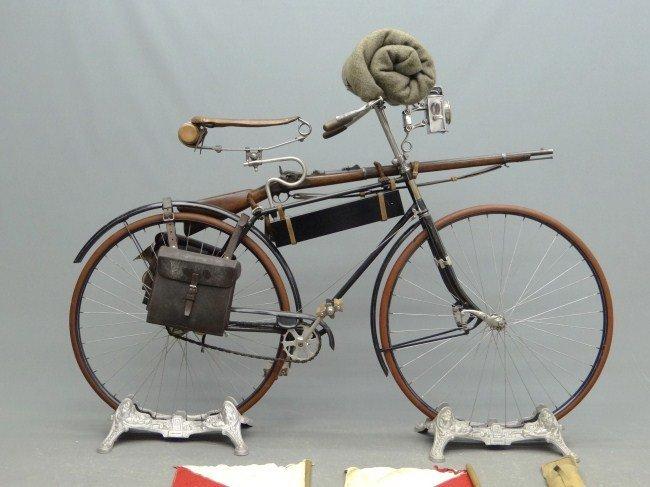 5: 19th c. Columbia Military Bicycle - 2