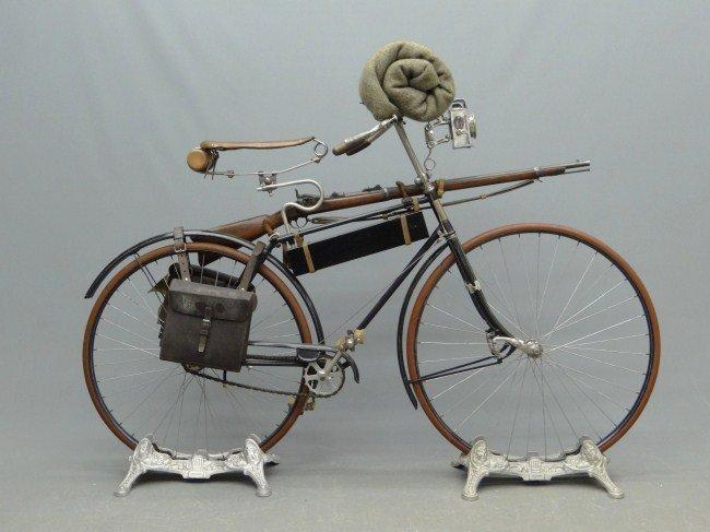 5: 19th c. Columbia Military Bicycle - 6