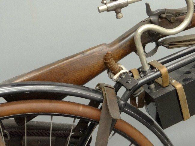 5: 19th c. Columbia Military Bicycle - 9