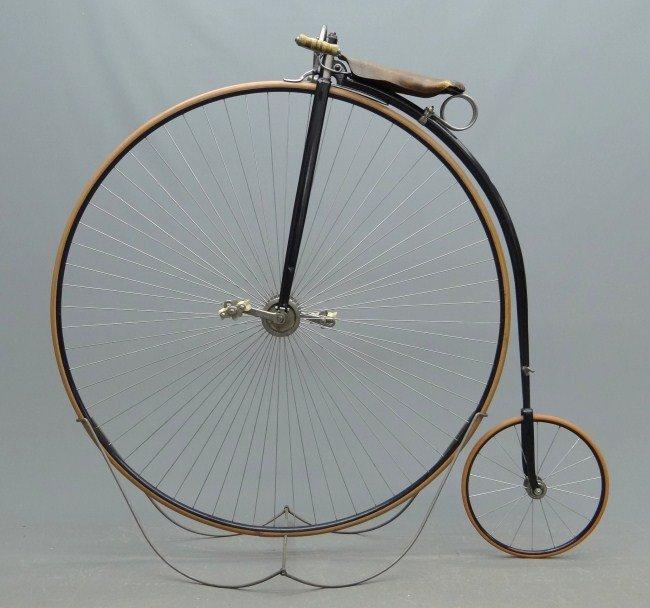 10: Columbia High Wheel Ordinary Bicycle