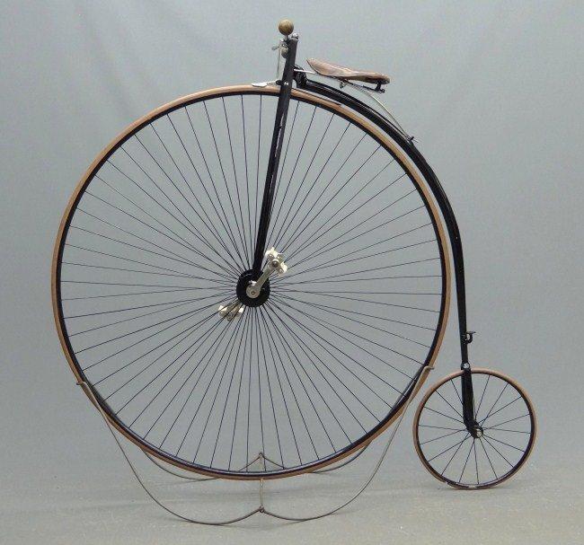 11: Columbia High Wheel Ordinary Bicycle
