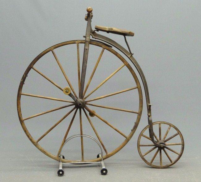 12: St. Nicholas High Wheel Ordinary Bicycle