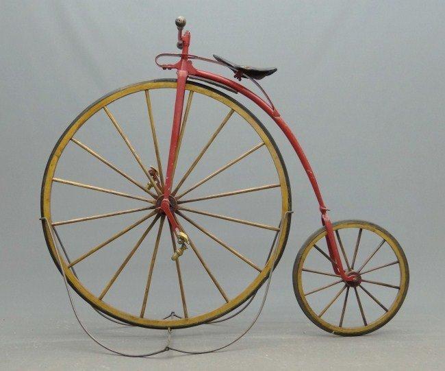 16: High Wheel Ordinary Bicycle