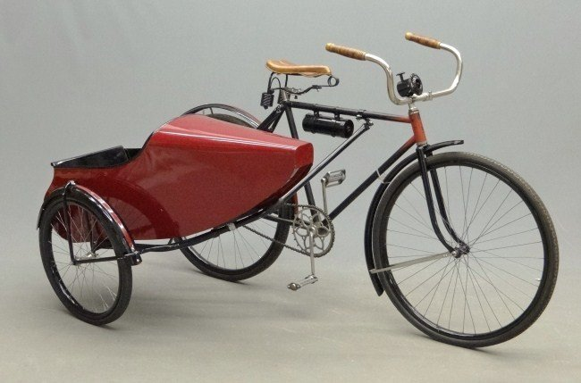 17: Bicycle with Sidecar