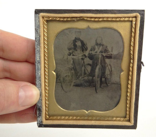 20: Tintype with Cyclists