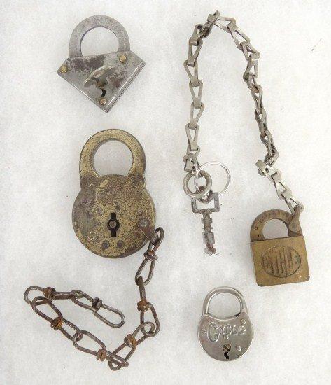 21: Bicycle Lock Lot
