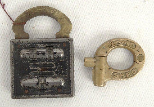 23: Bicycle Lock Lot