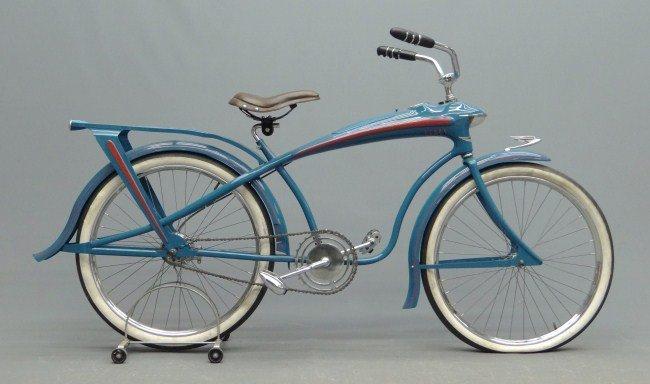 100: Elgin Bluebird Balloon Bicycle