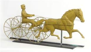 1: Horse And Rider Weathervane