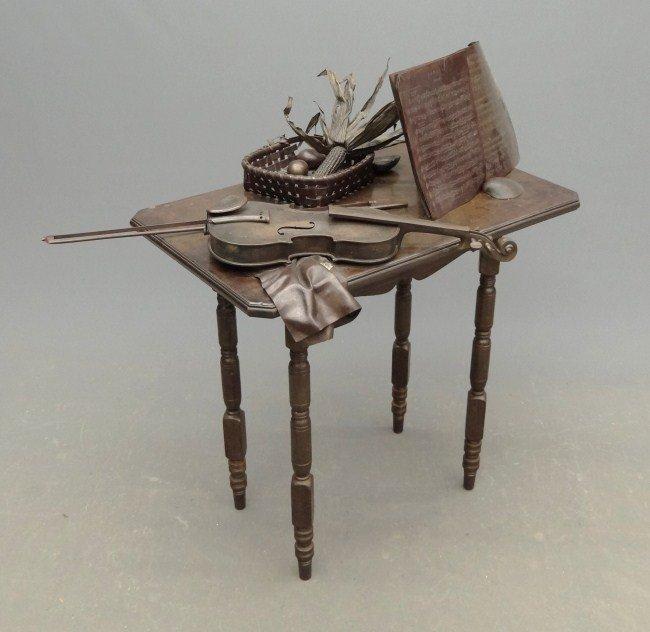 7: Kazuma Oshita Bronze Sculpture - 2