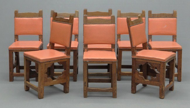 22: Set Of Jacobean Chairs